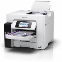 Multifunctional color Epson L6580 ink, A4, DADF, duplex, fax, retea, wireless